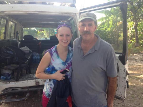 Clarissa and Gary in Haiti