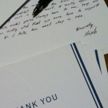 The Thank You Notes That Were Never Sent