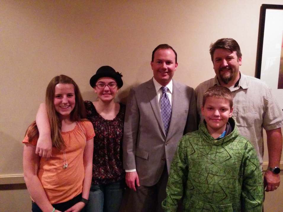 TARs leadership with Senator Mike Lee