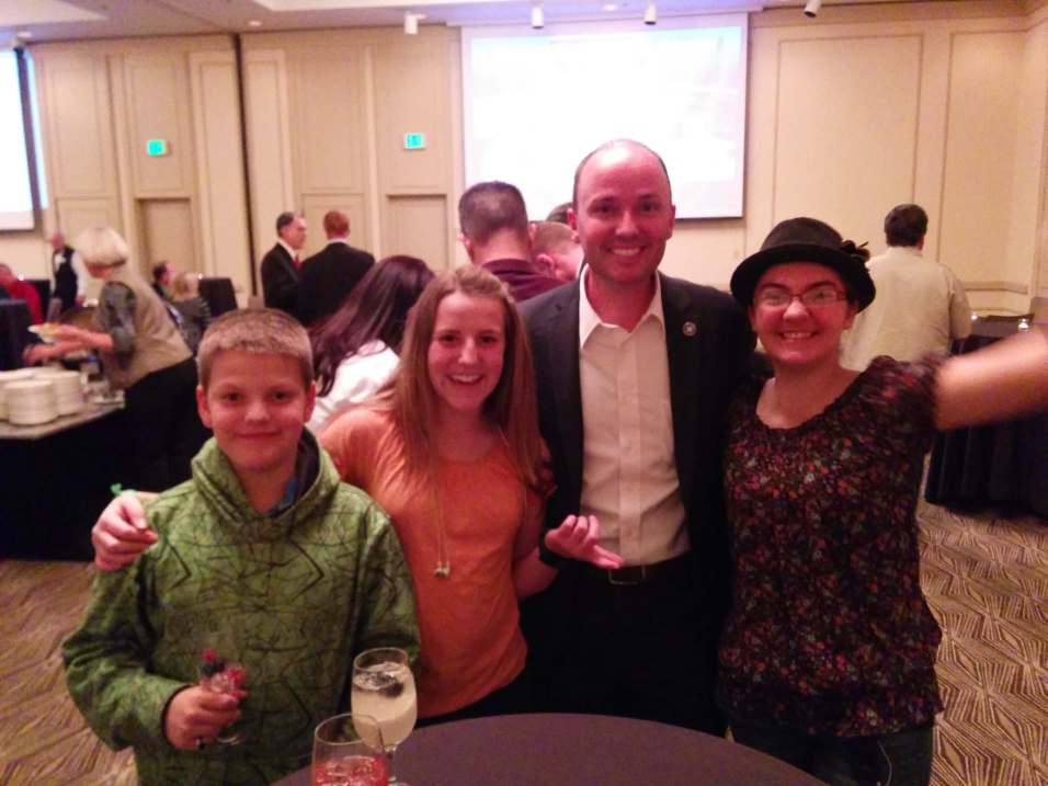 TARs leadership with Lt. Governor Spencer Cox