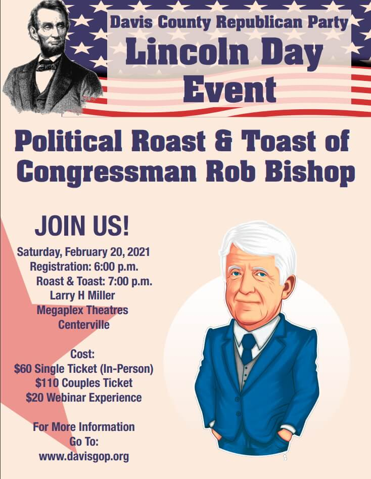 DCRP 2021 Lincoln Day Event, Rob Bishop Roast