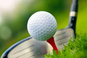 Golfing Scene