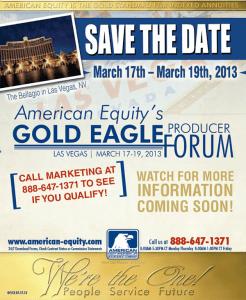 AE Gold Eagle Forum Flyer