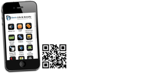 Mobile App Image with QR Code