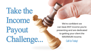 Take the Income Payout Challenge Ad