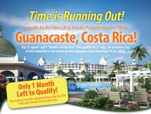 Costa Rica Reminder