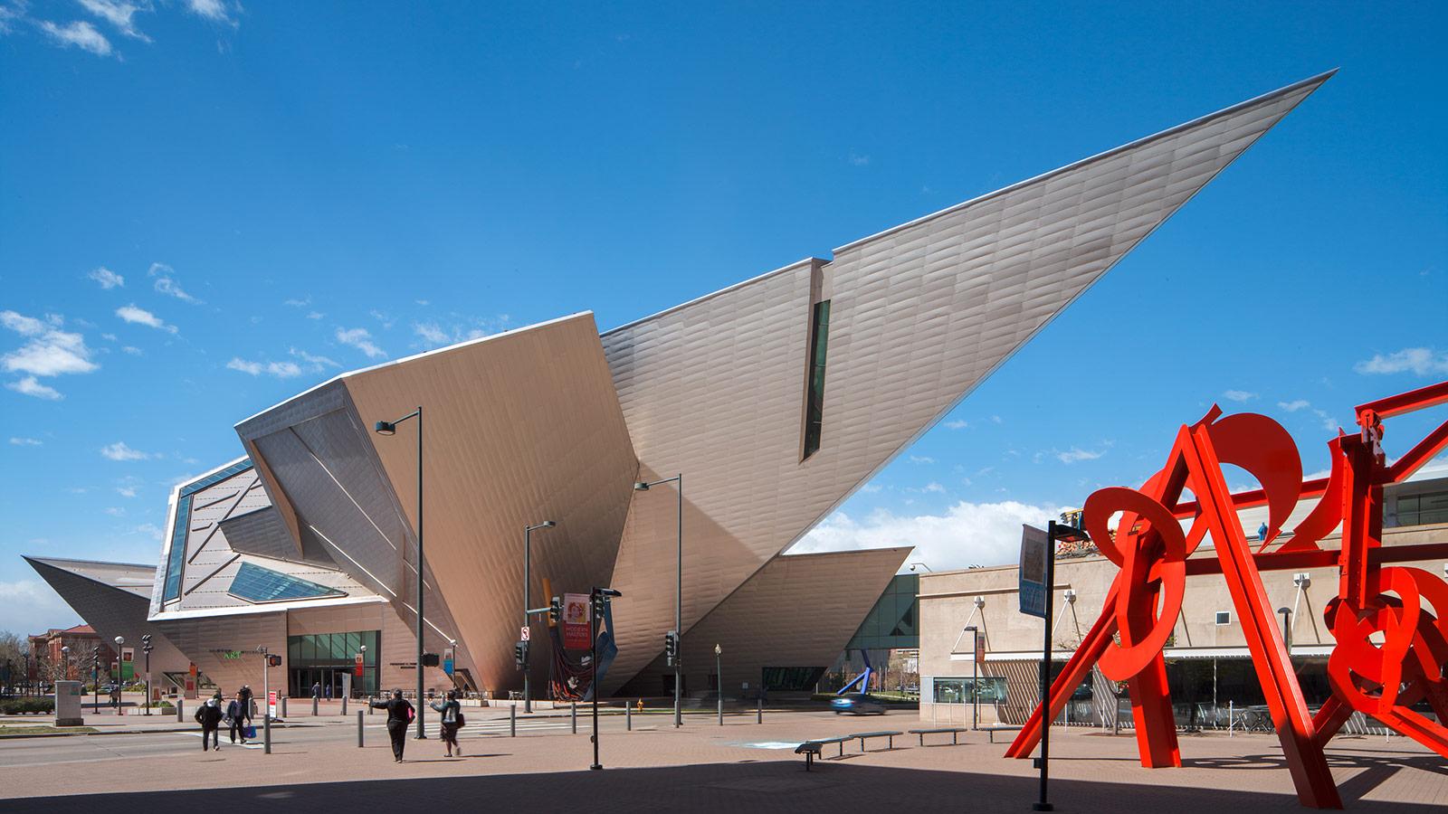 Denver Art Museum  Frederic C Hamilton Building  Davis Partnership