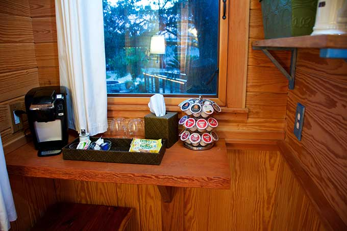 The Treehouse kitchenette