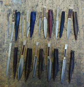 Solingen Knives - Back
