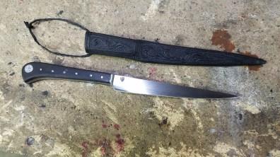 Knife & Scabbard