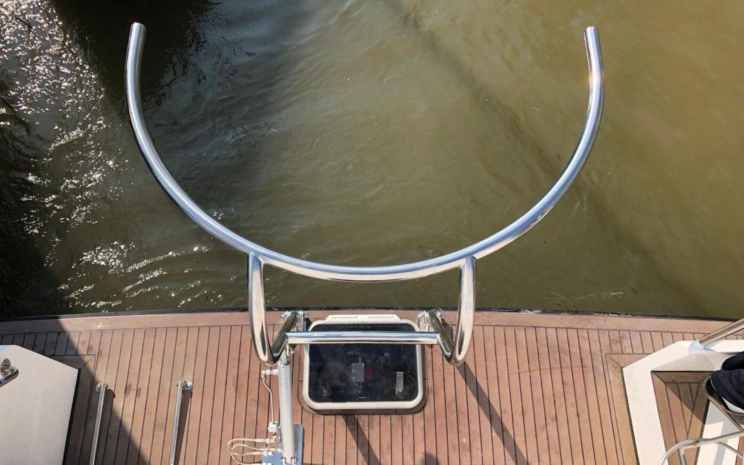 Davitnieuwestijl op Siemer 44 Motor Yacht