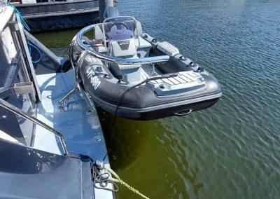 Amsterdam Marina een Van Der Heijden yacht
