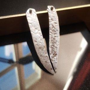 Крылья ангела серьги серебро купить украшение онлайн