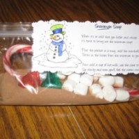 Snowman Soup Recipe