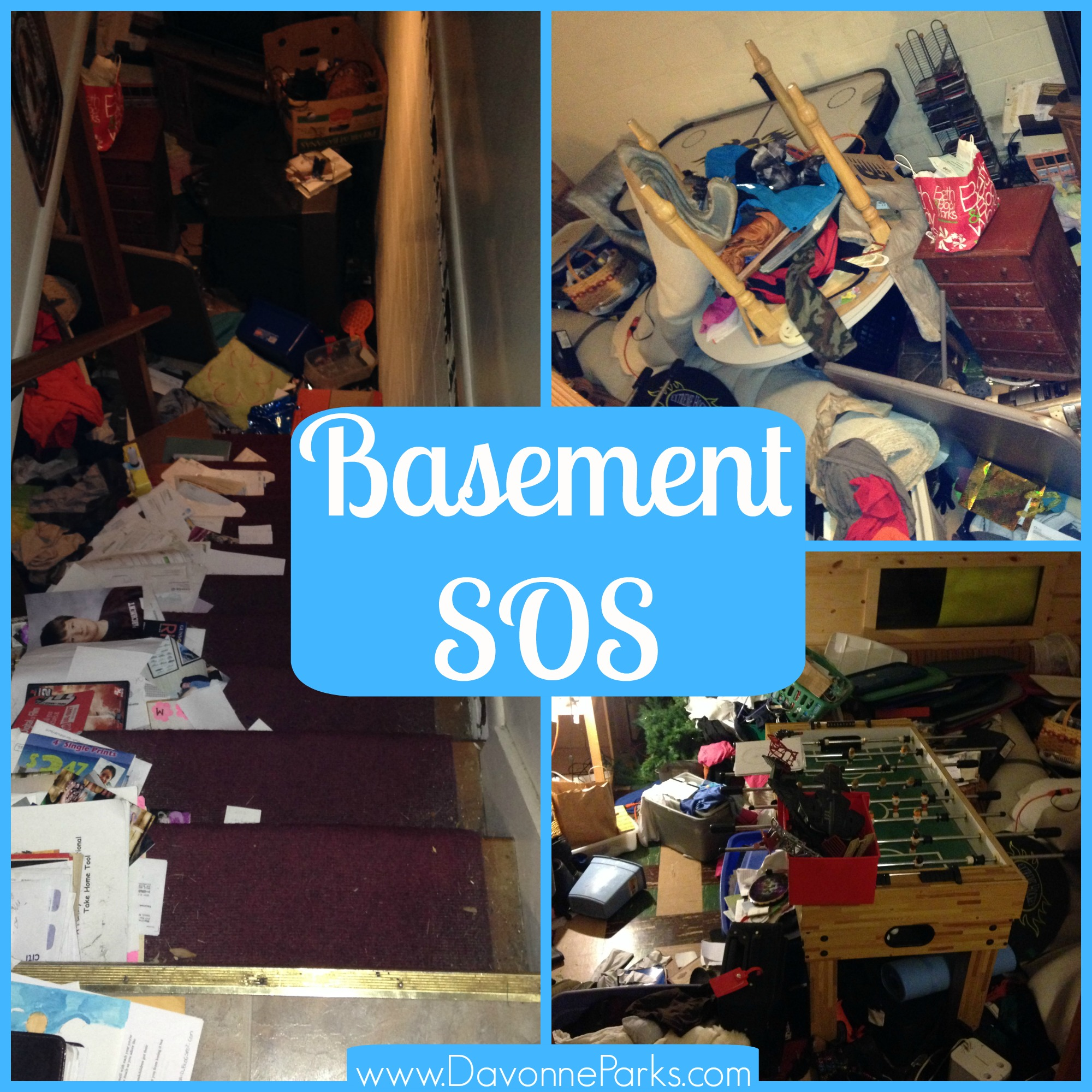 5 Steps To An Organized Basement