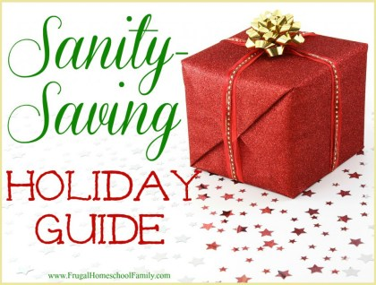 SanitySavingGuide