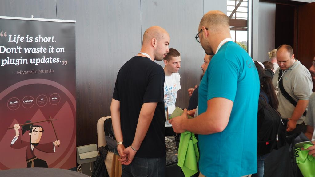 Talking with WordPress enthusiasts