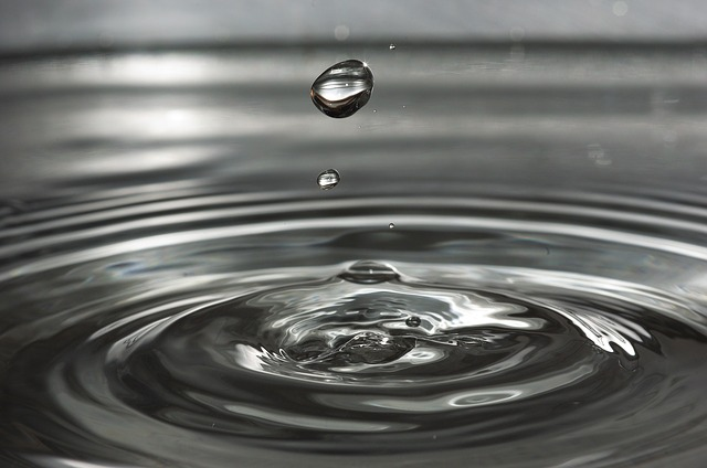 One drop of water can create a wave