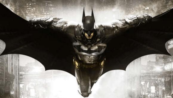Batman spreading the bad word
