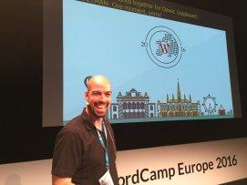 At WordCamp Europe 2016