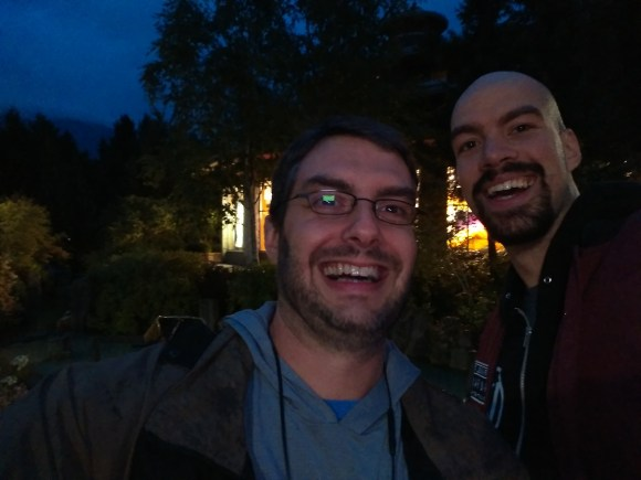 Jeff and I