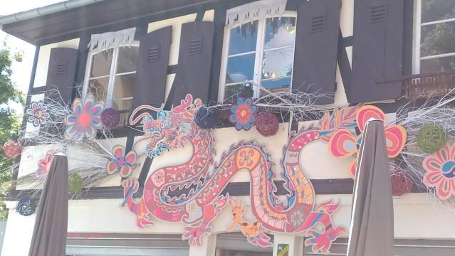 Dragon in Strasbourg