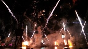 Fireworks in the sky