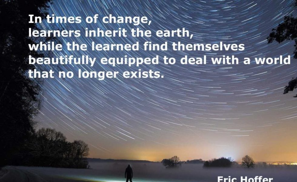 Star Trails and a quote