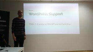 One slide during my presentation at WordPress Meetup Vršac