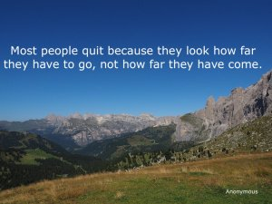Sella pass and a quote