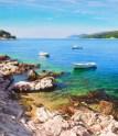 Sunny Island of Hvar (a detail), oil of canvas, 70x140 cm
