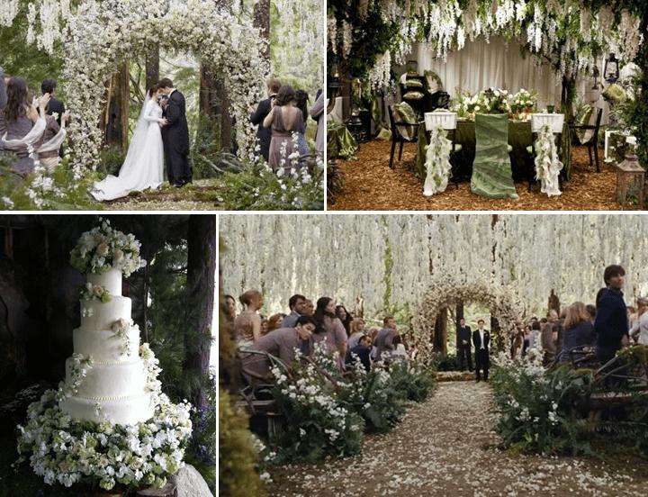 Twilight Wedding Theme  Fantastical Wedding Stylings