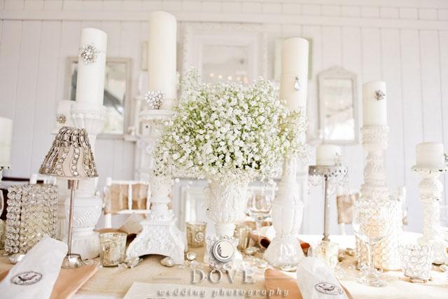 WhiteOut Wedding Theme  Fantastical Wedding Stylings