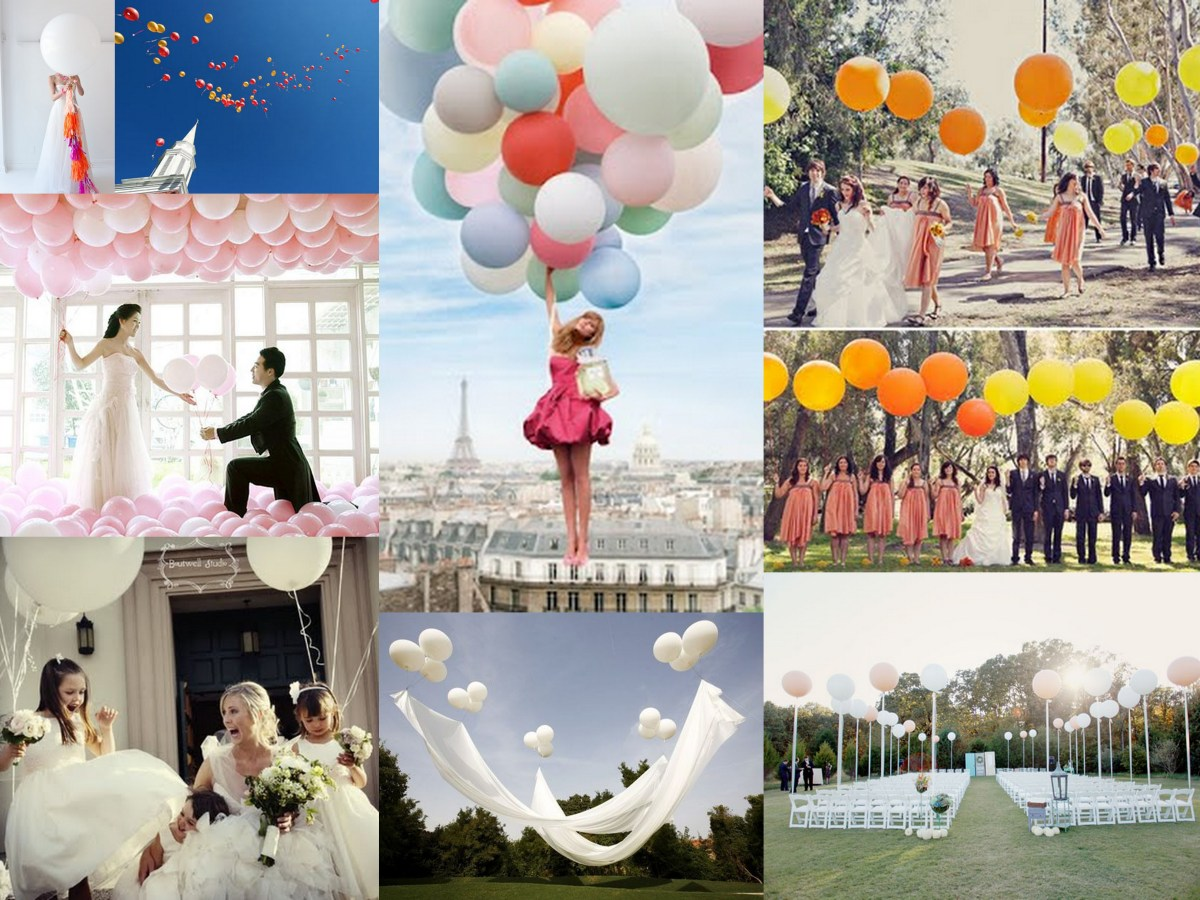 Full Of Hot Hair Balloon Wedding Inspiration