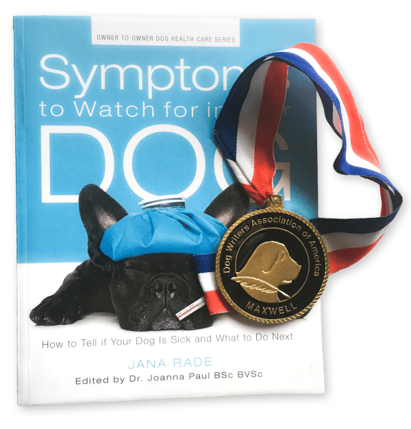 2017 Maxwell Award from the Dog Writers Association of America