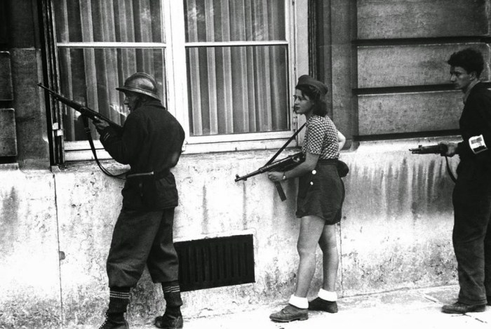 Simone Segouin, the 18 year old French Rsistance fighter, 1944