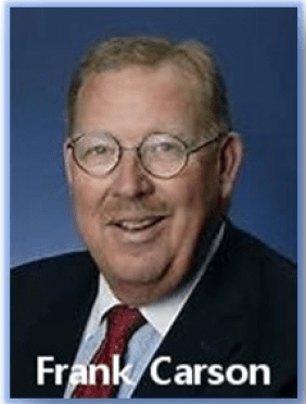 FRANK CARSON PASSES AWAY  AFTER HEART ATTACK