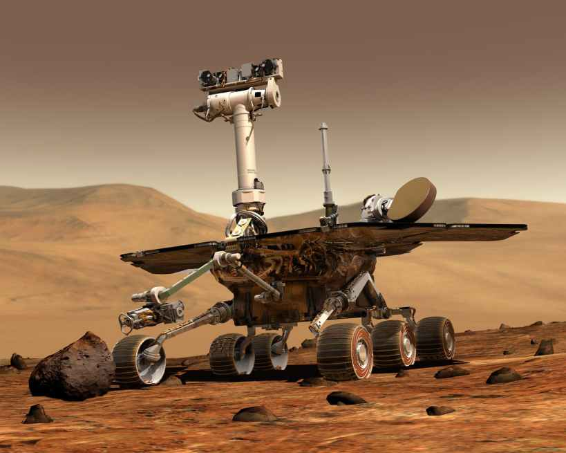 NASA FLYING A HELICOPTER ON MARS