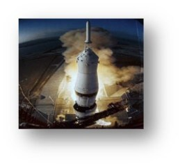 968: Apollo 6 is launched