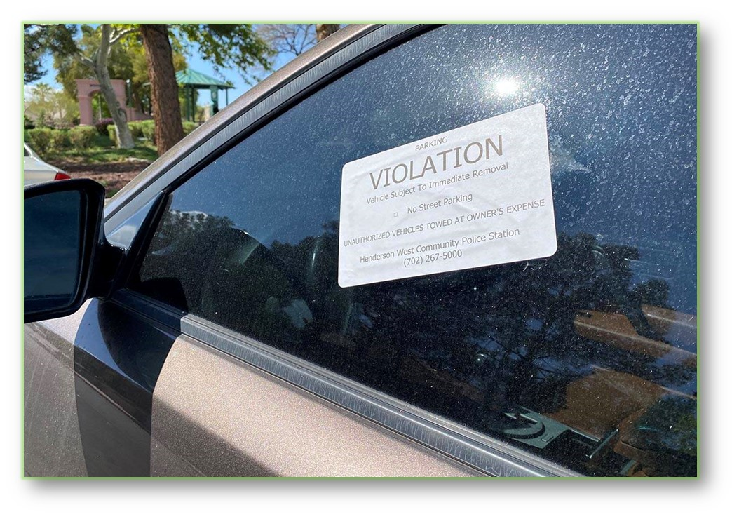PRINT YOUR OWN VIOLATIONS