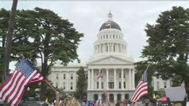 CHP SUED FOR BANNING PROTESTS AT STATE CAPITOL