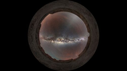 A VIEW FROM ABOVE THE MILKY WAY