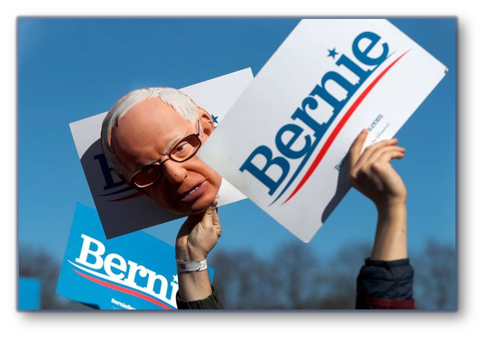 BERNIE STAFFERS IMPLODE ON EACH OTHER