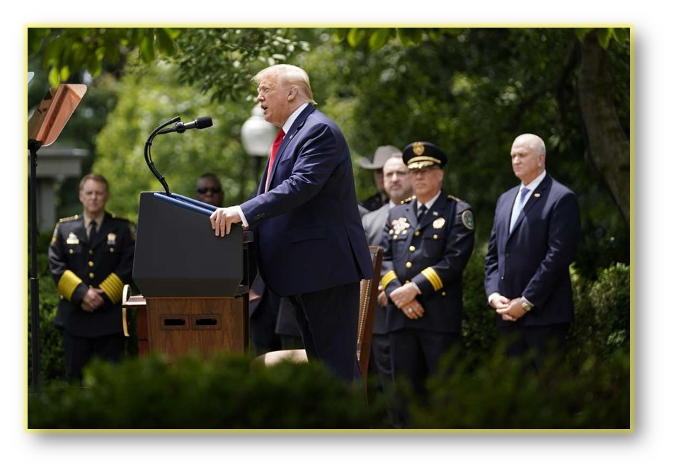 TRUMP EXECUTIVE ORDER ON POLICING MAKES CHANGES