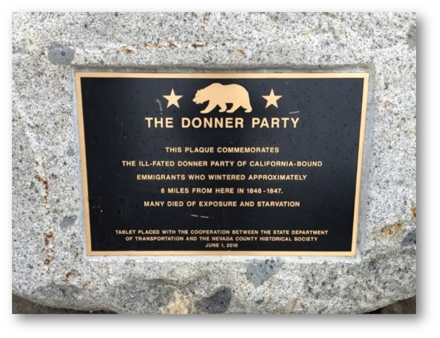 THE DONNER PARETY