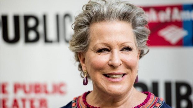 DIPSHIDIOT OF THE DAY: BETTE MIDLER