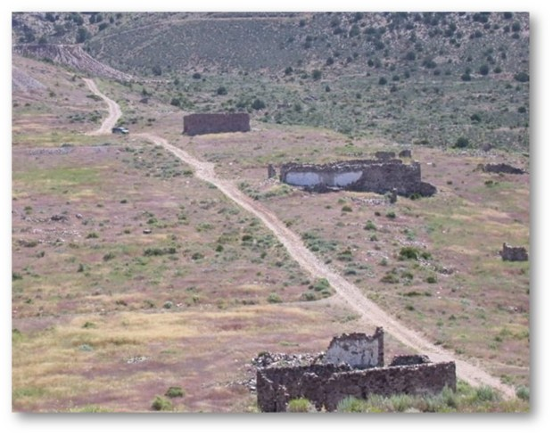 NEVADA ADVENTURES: A SINISTER MINING TOWN