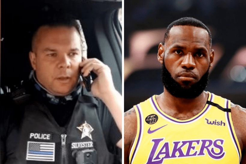 IDAHO OFFICER WHO CLOWNED LeBRON SIGNS BOOK DEAL