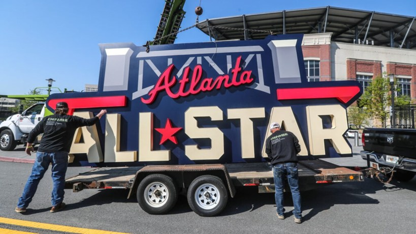 MLB SUED BY ATLANTA GROUP OVER ALL STAR GAME