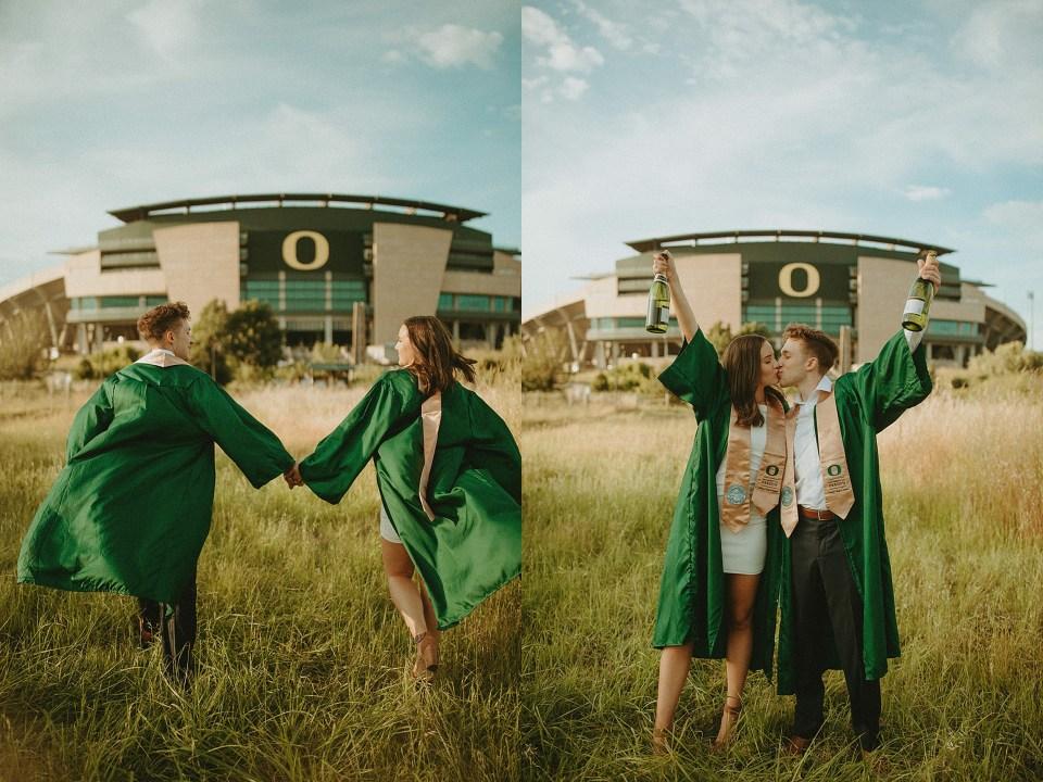 Oregon stadium senior photo